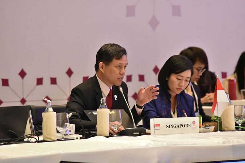 Minister for Trade and Industry Chan Chun Sing wrote in a Facebook post that Asean member states agreed on the importance of concluding the Regional Comprehensive Economic Partnership negotiations by the end of 2019.