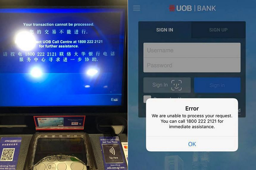 UOB banking customers hit by near 2-hour service outage affecting