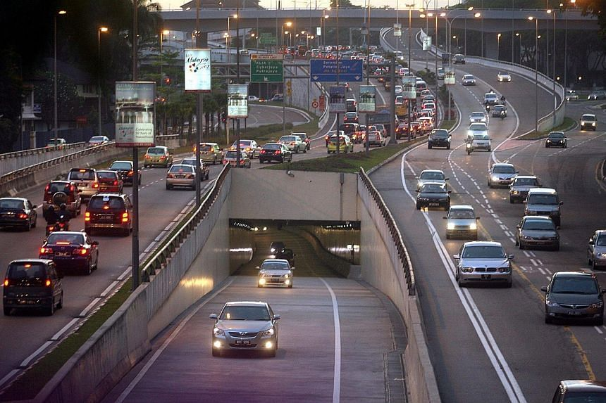 The Smart tunnel in Kuala Lumpur, one of four toll highways the Malaysian government wants to take over, in a move to fulfil its election pledge of removing or reducing toll charges as one way of lowering the cost of living for the people. PHOTO: THE