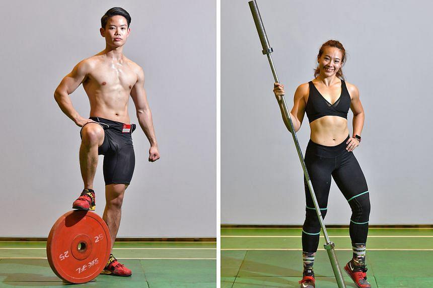 Left: Ben Goh, 25. Right: Nicole Heng, 24.