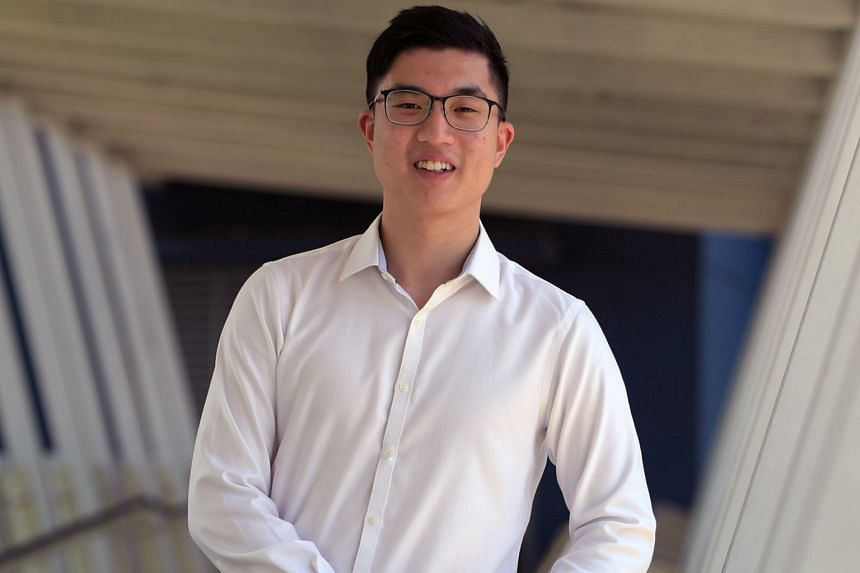 Mr Sean Jou and his National University of Singapore team were runners-up in the SGX-NUS Stock Pitch Competition. He says his parents gave him the freedom and ability to invest in stocks on his own.