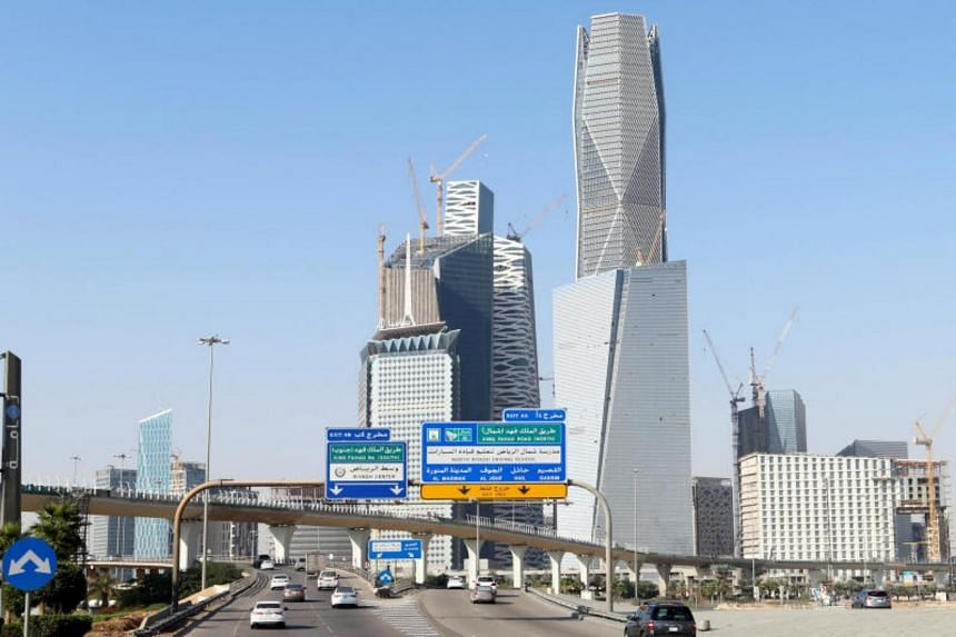 A view of the skyline of the King Abdullah Financial District in Riyadh. Saudi Arabia has opened up a permanent residency programme, though it will cost 800,000 riyals (S$289,000).