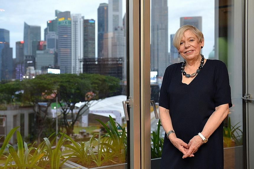 Historian Karen Armstrong, who is based in London, was in Singapore last week to speak at the first International Conference on Cohesive Societies.