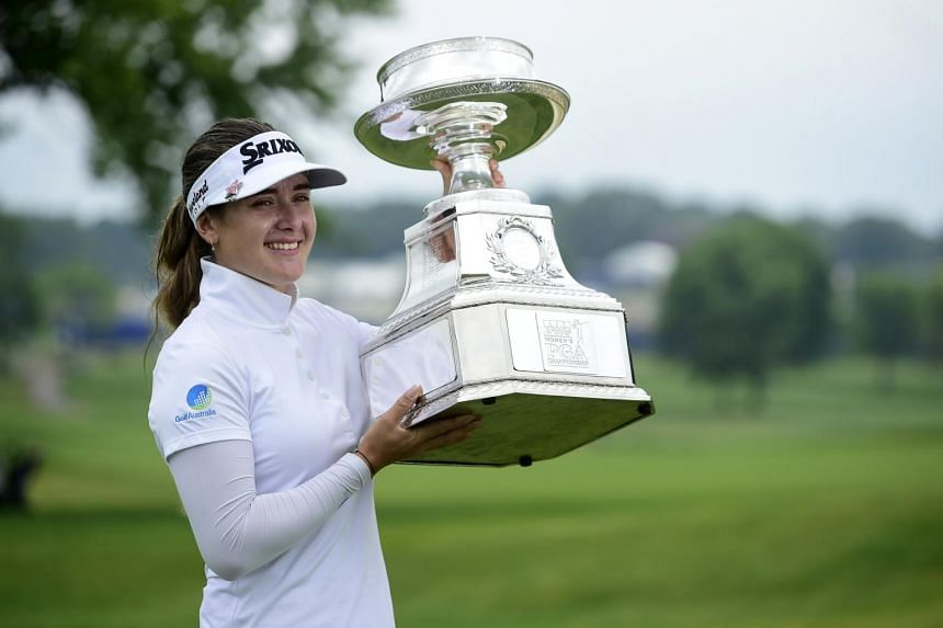Hannah Green is the first Australian to win a Major in 13 years.