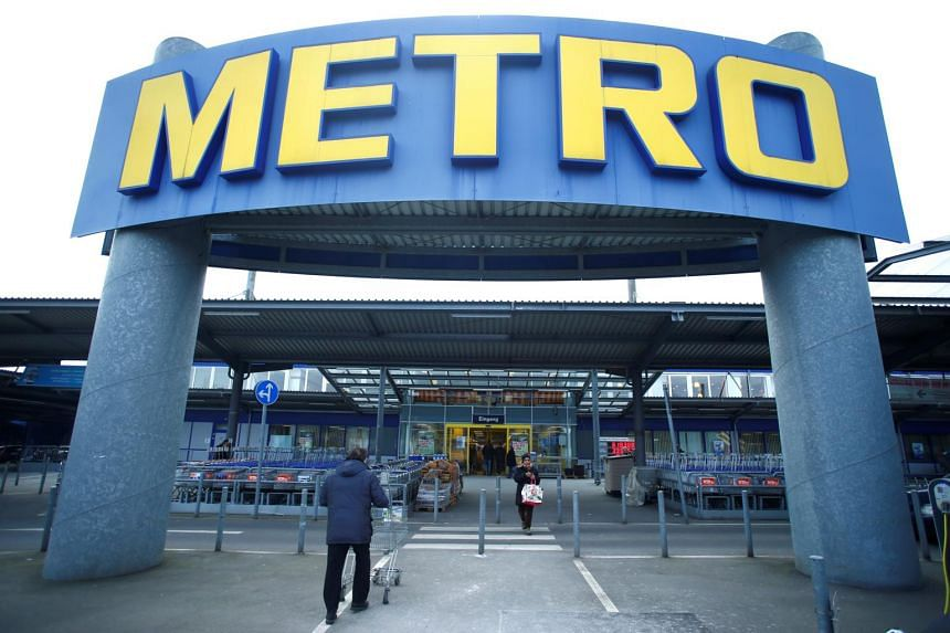A Metro AG supermarket in Duesseldorf, Germany on March 2, 2018. A recent offer values the German chain at US$6.6 billion (S$8.94 billion).