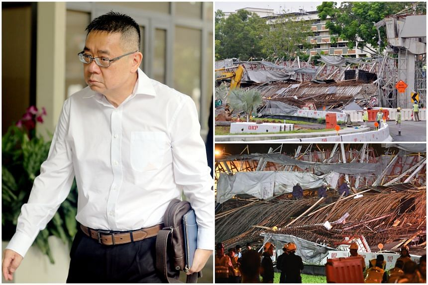 Engineer Leong Sow Hon is the first person involved in the fatal viaduct collapse on July 14, 2017 to plead guilty to an offence under the Building Control Act.