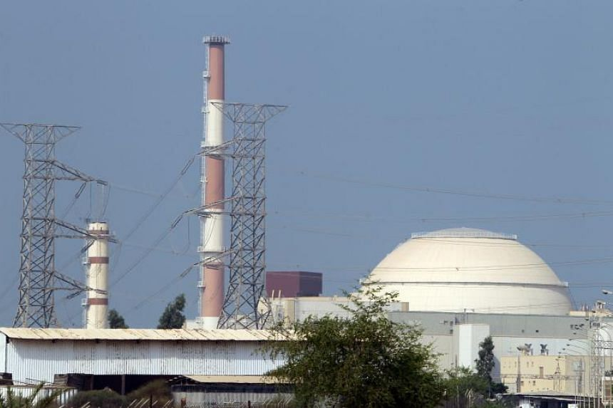The reactor building at the Bushehr nuclear power plant in southern Iran, 1,200km south of Teheran.