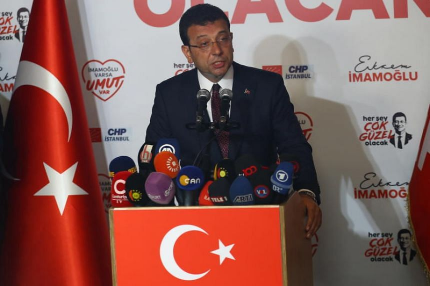Ekrem Imamoglu's lead of more than 775,000 votes marked a huge increase on his victory in March, when he won by just 13,000.