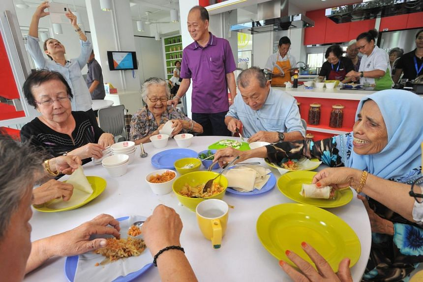 The Health Promotion Board hopes that increasing the protein content in soups, porridge and even ice cream and herbal jelly will raise the proportion of older people getting enough protein by 50 per cent.