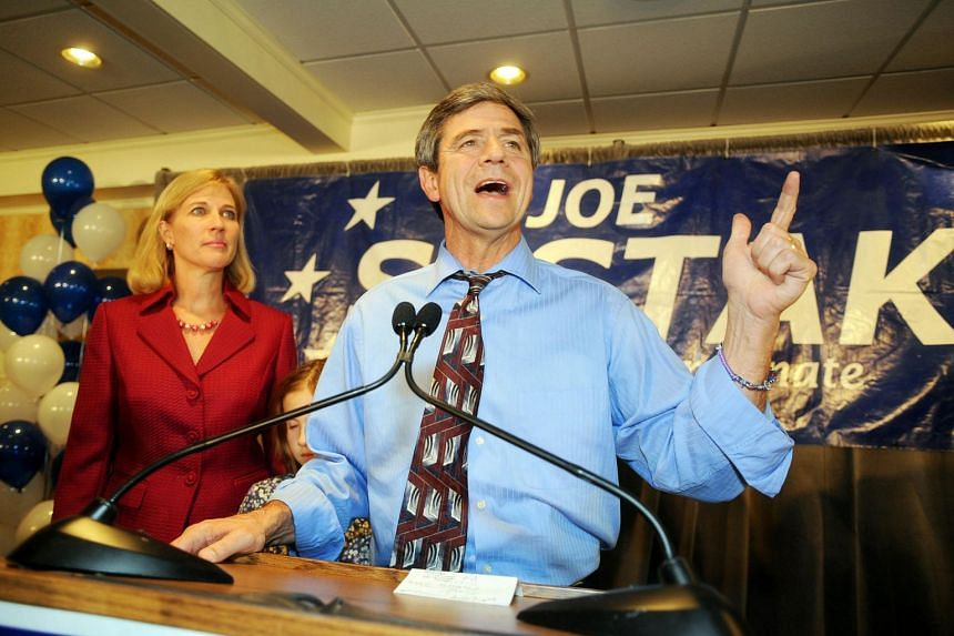 Former US congressman Joe Sestak in St Davids, Pennsylvania in November 2010. He is the latest to join an already wide field of Democrat candidates for the Presidential race.