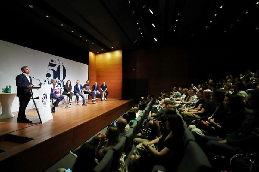 A press conference held at National Gallery on June 24, 2019, ahead of the World's 50 Best Restaurants awards ceremony.