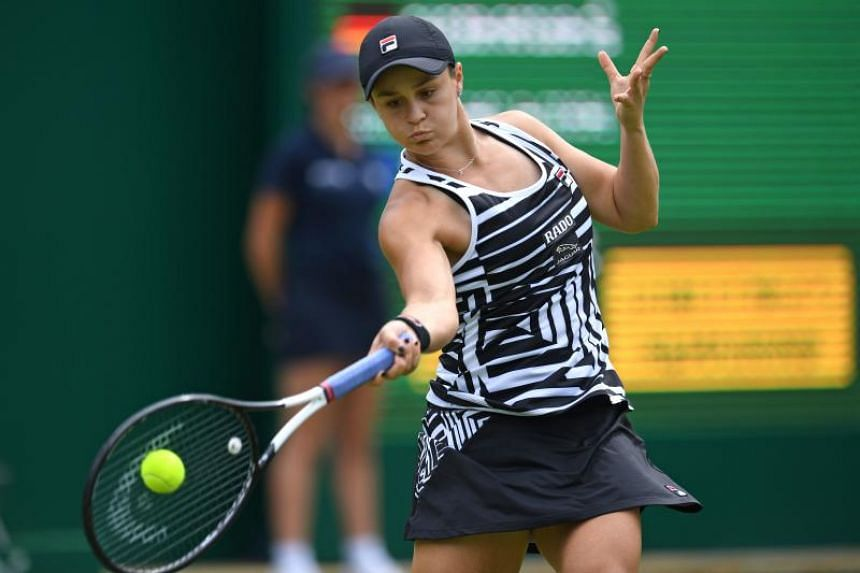 Ashleigh Barty moved to the top of the rankings for the first time by winning the Birmingham Classic on June 23, 2019.