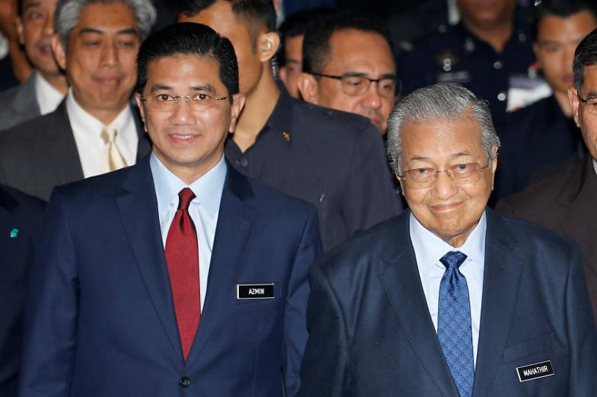 This is the second time that Dr Mahathir has defended Datuk Seri Azmin's position in the Cabinet. When the scandal broke out earlier this month, he said Mr Azmin does not have to take leave from his post while the authorities investigate the matter.
