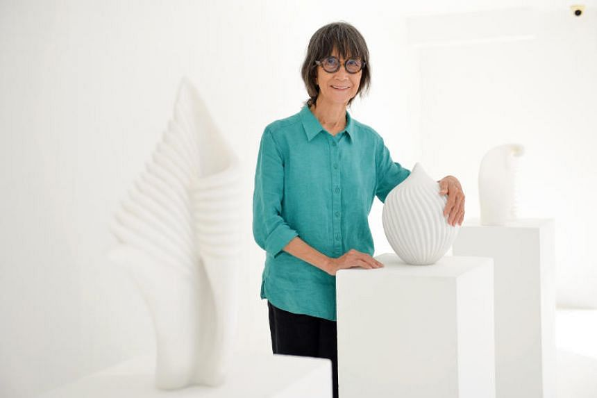 Sculptor Han Sai Por, 76, will have more than 10 sculptures and 12 acrylic on canvas works on show at her solo exhibition from July 5, 2019 to July 20, 2019.