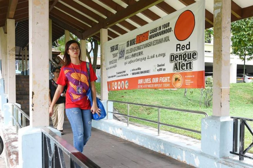 Efforts to stop the transmission of dengue have been stepped up around Woodlands Avenue 6, where a total of 360 people have been infected in two dengue clusters.