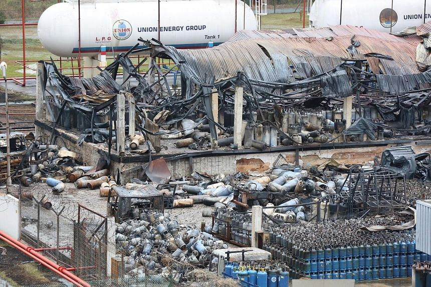 The massive blaze last Friday at a facility of one of Union's suppliers, Summit Gas Systems, involved hundreds of LPG cylinders. Union Gas said its management has been in discussion with Summit, and it will work with both Summit and Semgas Supply to