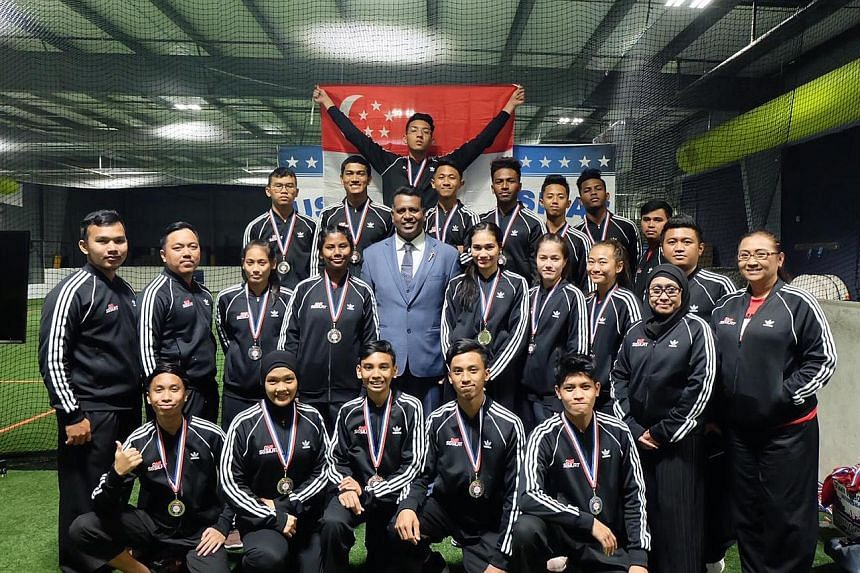 Singapore's 22-strong silat contingent won 16 gold medals out of a possible 27 at the first United States Open Pencak Silat Championships last weekend in Sterling, Virginia. A total of 87 athletes from the US, Singapore, Indonesia, Japan and Uzbekist