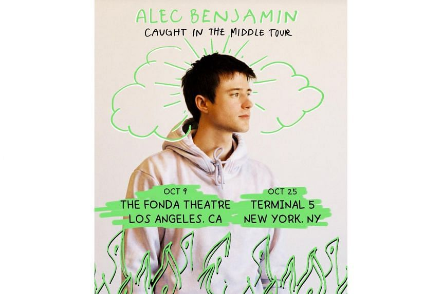 The concert is part of Alec Benjamin's Caught In The Middle World Tour, which also includes stops in Hong Kong, Seoul and Tokyo.