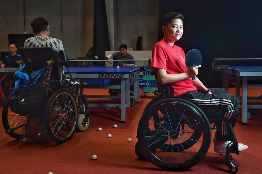 Claire Toh is paralysed from the chest down and suffers constant nerve pain, which she describes as a shooting sensation down her limbs.