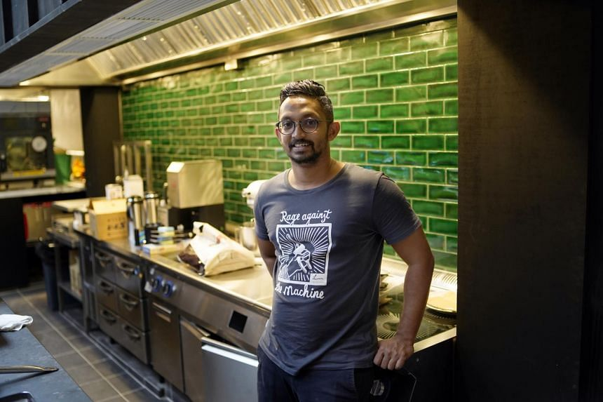 Chef Rishi Naleendra has been conducting trial dinners in the lead-up to the opening of Cloudstreet.