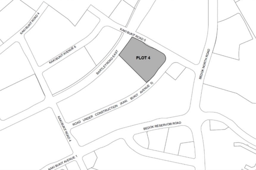 The site in Kaki Bukit Road 5 is available for application under the first half of 2019 industrial government land sales programme.