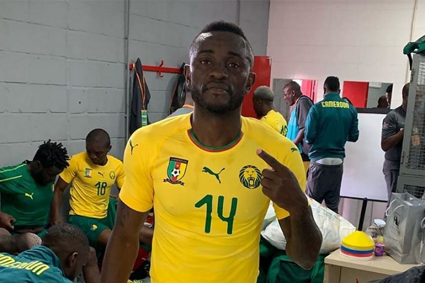 "Joel Tagueu, 25, had an ""anomaly in his coronary artery detected by team doctor William Ngatchou which risks his life if he were to play"", the Cameroon Football Federation said."