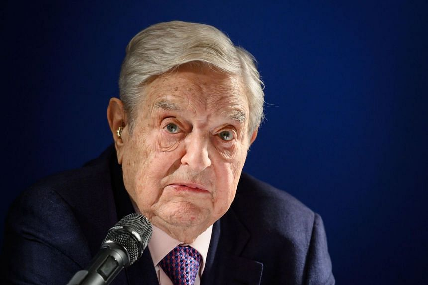 George Soros, who is part of a group of 20 super-wealthy Americans calling for higher taxes on the rich.