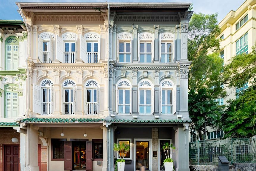 The corner shophouse at 65 Club Street is currently owner-occupied by boutique luxury property consultancy Jerrytan Residential. Bought in 2006 for $2.8 million, the 999-year leasehold property has since undergone a $1.2 million refurbishment and has