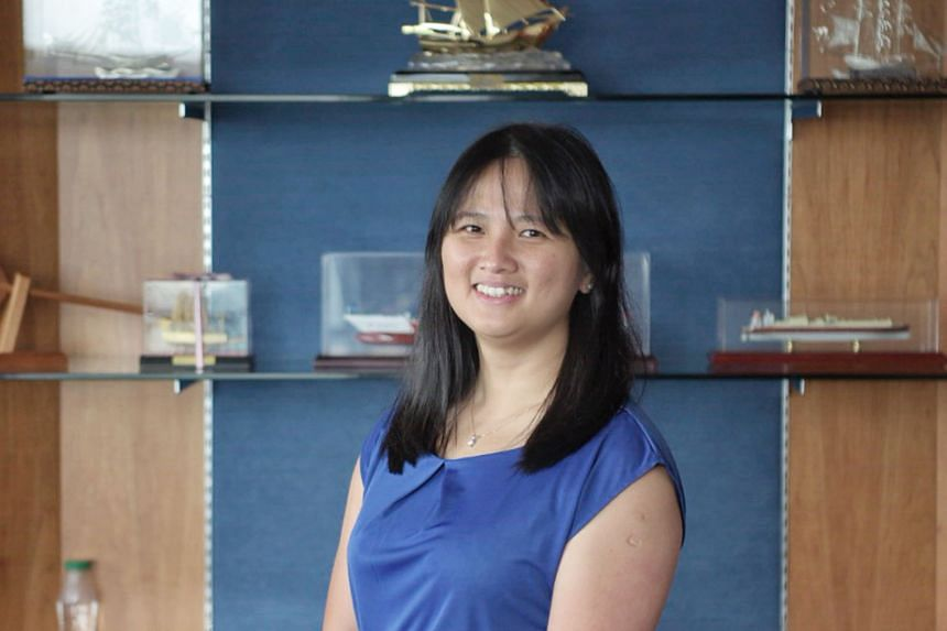 Ms Wan Fei Fei, a former maritime engineer on board a ship and now an assistant director in the Maritime and Port Authority of Singapore's registry department, says she sees more women in the sector now. Ms Lina Soho, who was a seafaring officer for