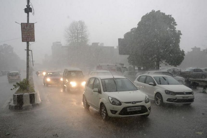 According to meteorological department officials, thundershowers are likely to continue in many places across the state during the next two days.