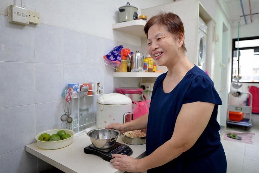 Madam Rosie Wong, who is also a masseuse, is among the many members of the disabled community here who have turned to assistive or inclusive technologies to live more independent lives.