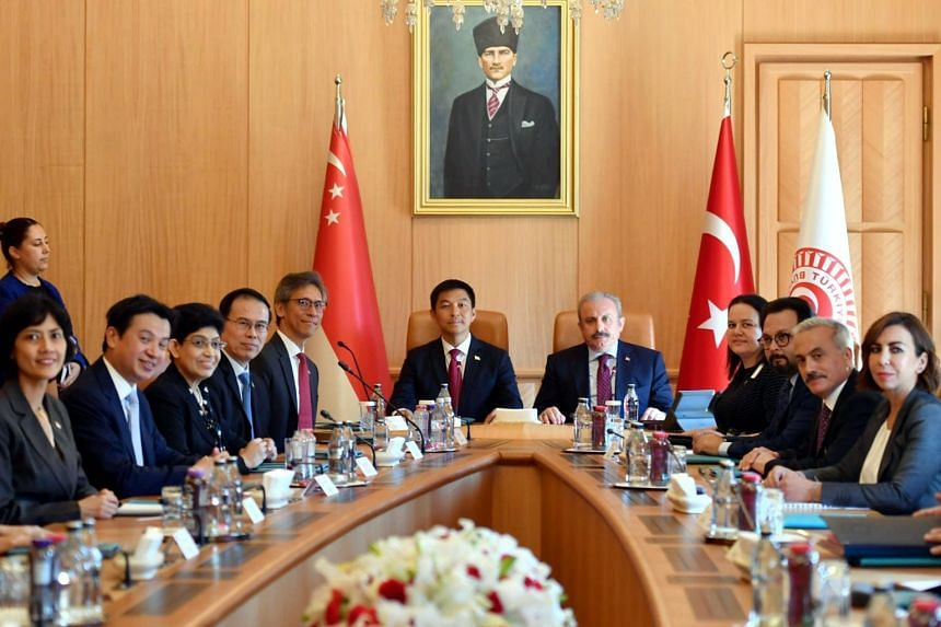 A delegation of Singapore parliamentarians met their counterparts in Ankara, Turkey, on a visit that marks the 50th anniversary of diplomatic ties between the two countries on June 25, 2019.