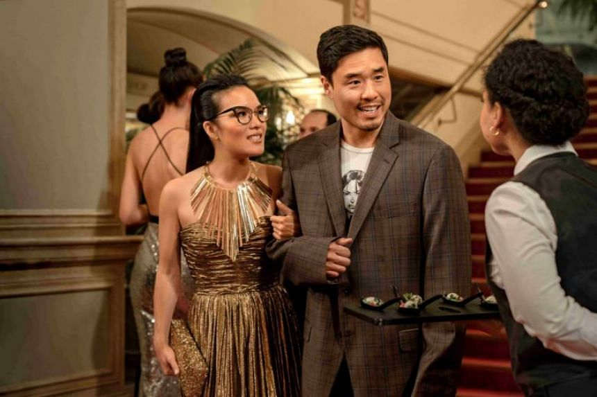 Netflix film Always Be My Maybe starring Ali Wong and Randall Park.