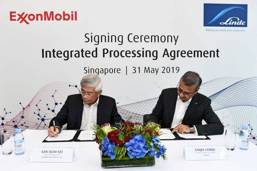 Industrial gases and engineering group Linde has signed a long-term agreement to ramp up its hydrogen supply to ExxonMobil Asia Pacific.
