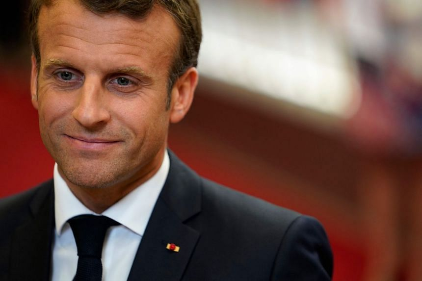 French President Emmanuel Macron (above) studied at Sciences Po.