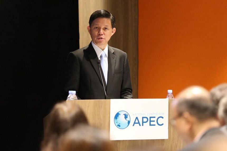 Against a backdrop of continued global uncertainty, Singaporeans should stay alert but not be afraid, said Minister for Trade and Industry Chan Chun Sing.