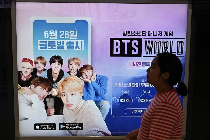 Mobile game BTS World, featuring popular K-pop boy band BTS, will be released in 176 countries in 14 languages today.