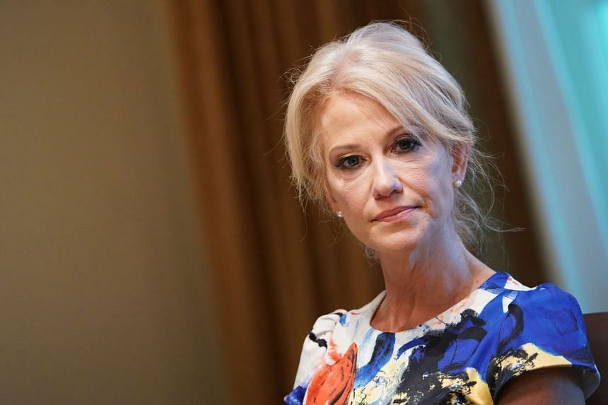 A report recommended that Trump fire Conway (above), one of his most dogged defenders.