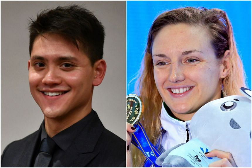 Athletes competing at the Fina Swimming World Cup Singapore include Singaporean Olympic champion Joseph Schooling and multiple Olympic gold medallist Katinka Hosszu.