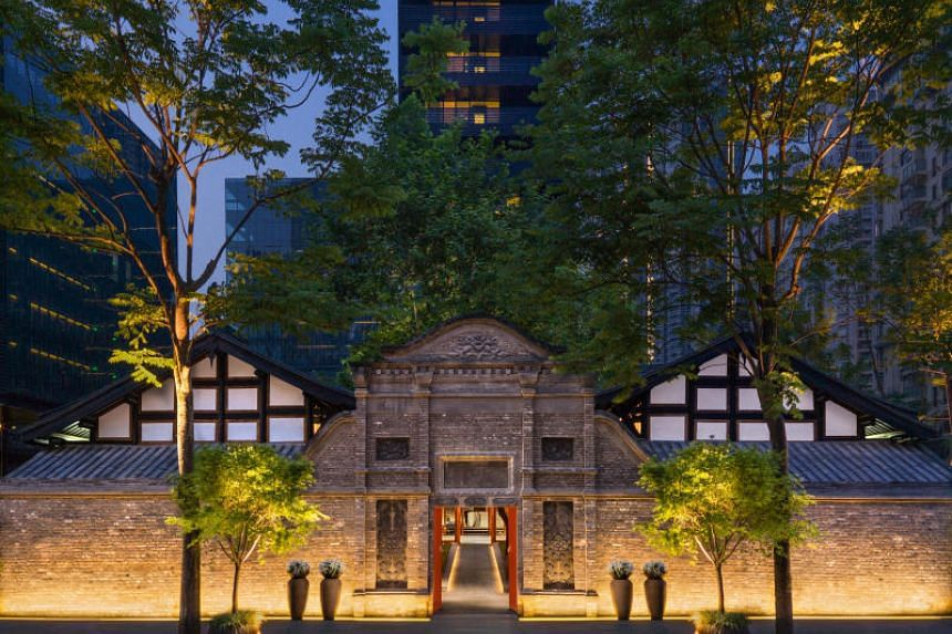 The Temple House Chengdu in China, a boutique hotel that retains its late Qing heritage. Students in the Central Party School in Beijing learnt about a boutique hotel in the mountains of eastern Zhejiang province as part of their curriculum.