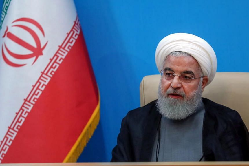 Iranian President Hassan Rouhani has blamed the US for regional tensions.