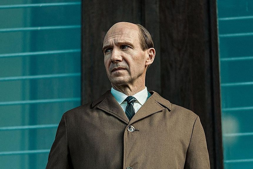 Ralph Fiennes plays dance teacher Alexander Pushkin (above) in The White Crow, which he also directs.
