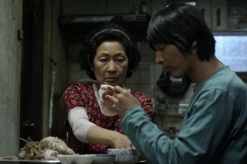 Mother starring Kim Hye-ja and Won Bin.