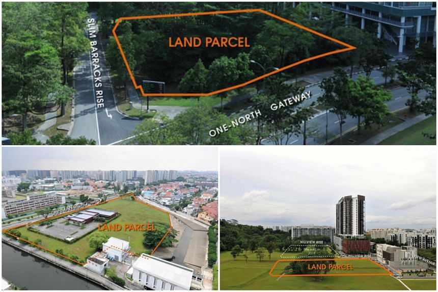 Tender for the land parcel at one-north Gateway will close at 12 noon on Sept 5, 2019. The two residential sites at Hillview Rise and Dunman Road, are released under the reserve list, and are now available for application.