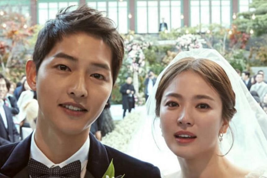 Song Joong Ki and Song Hye Kyo file for divorce
