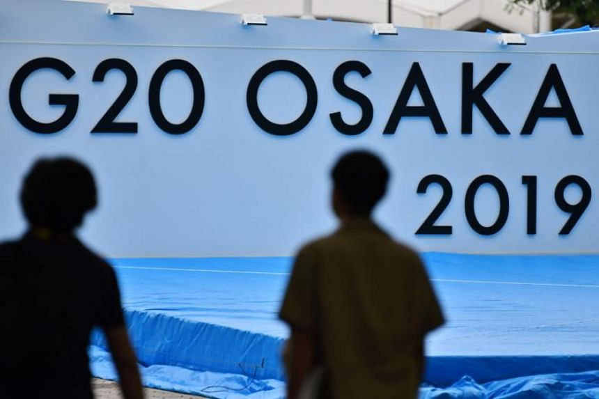 About 7,000 journalists are registered to cover the summit, a senior Foreign Ministry official said, and the city of Osaka is on unprecedented security lockdown with extensive roadblocks.