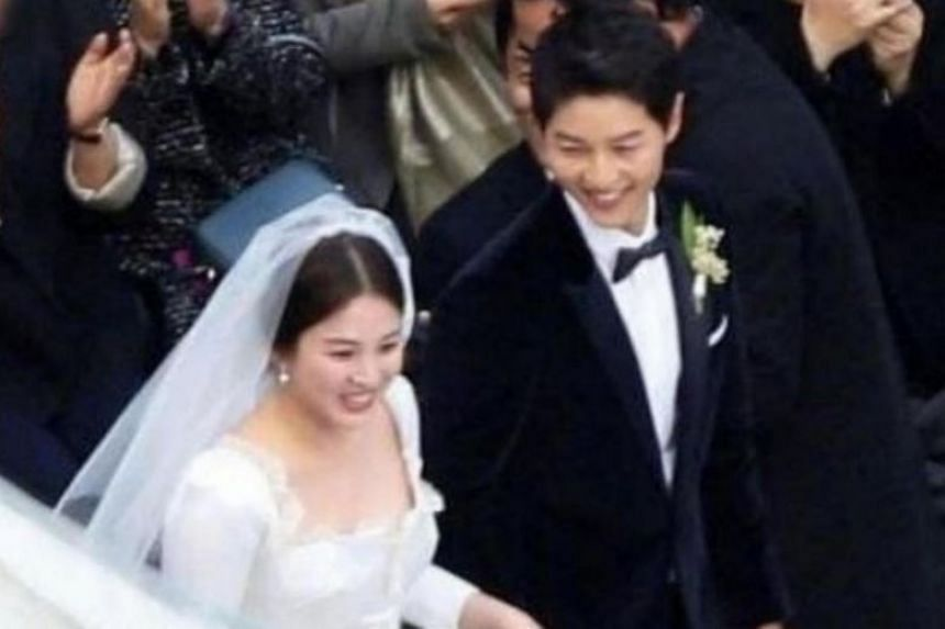 Song Joong Ki files for divorce from Song Hye Kyo