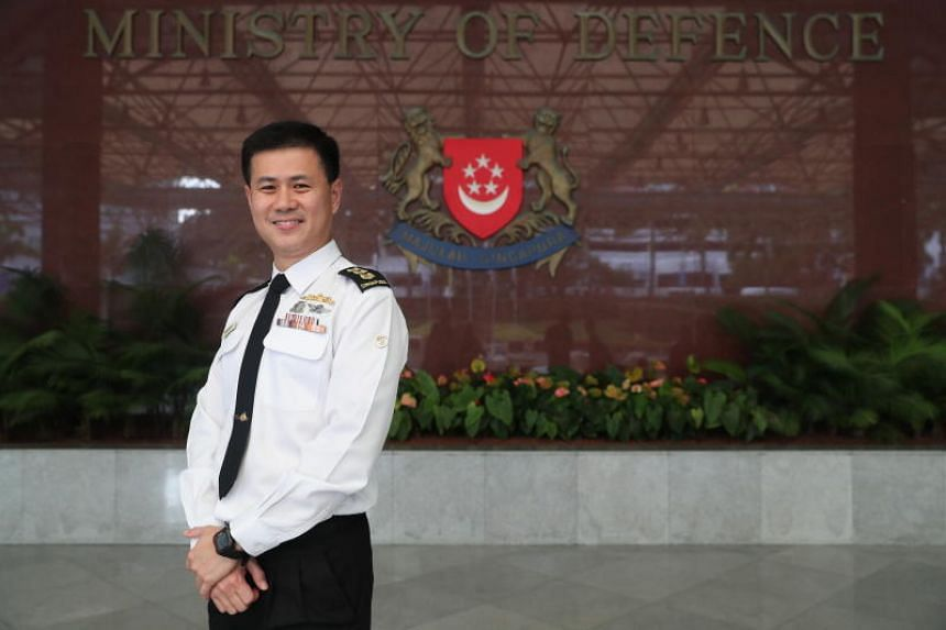 Colonel Seah Poh Yeen (above), commander of the Maritime Security Task Force, was among more than 500 Ministry of Defence and Singapore Armed Forces personnel promoted.