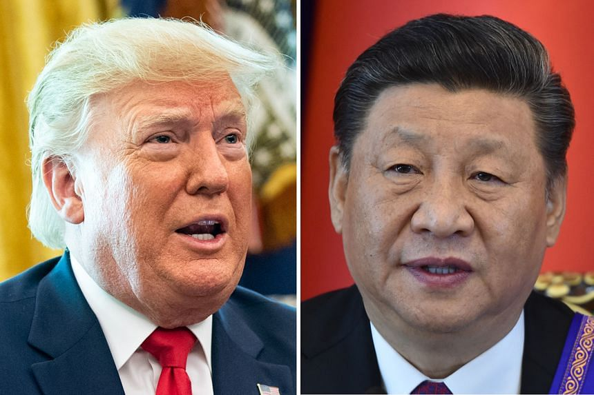 (Left) United States President Donald Trump and Chinese President Xi Jinping (right) will meet on Saturday at the Group of 20 summit in Japan.