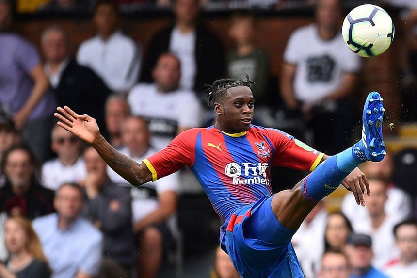 Pacy right-back Aaron Wan-Bissaka, a product of the Crystal Palace academy, is a boyhood fan of his new club Manchester United. PHOTO: AGENCE FRANCE-PRESSE